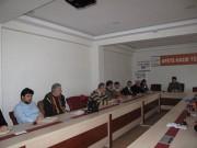 AFAD değerlendirme ve hazırlık toplantısı yapıldı.