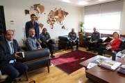 ETÜ Rektörü Prf. Dr. Tuncay Döğeroğlu'nu Ziyaret