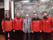 Yılmaz Büyükerşen'e Ziyaret
